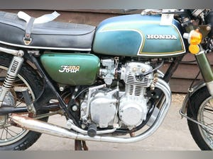 1972 Honda CB350 4 CB 350 4 First year model, untouched bar pipes For Sale (picture 2 of 12)