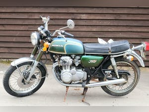 1972 Honda CB350 4 CB 350 4 First year model, untouched bar pipes For Sale (picture 8 of 12)
