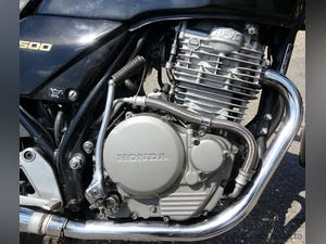 1987 Honda XBR 500, MOT, ready to ride, great engine. For Sale (picture 7 of 9)