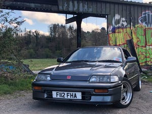 1989 Honda CRX B16 For Sale (picture 4 of 12)