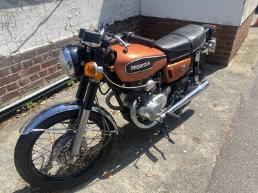 Picture of 1973 honda CB 175 in restored condition with loads of spares incl For Sale
