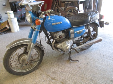 Picture of 1979 Honda CD200 Benly Barn Find/Project For Sale
