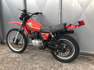 1980 HONDA XL 250 S XL250S LOW MILES RUNS MINT! NEW TYRES For Sale (picture 5 of 8)