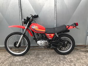 1980 HONDA XL 250 S XL250S LOW MILES RUNS MINT! NEW TYRES For Sale (picture 6 of 8)