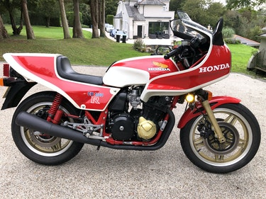 Picture of 1981 CB1100RB Rare UK bike very low mileage For Sale