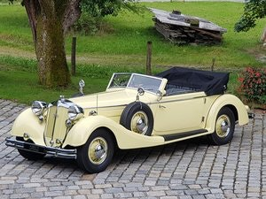 Picture of 1936 Horch 853 Sport Cabriolet, one of 4 RHD examples! For Sale