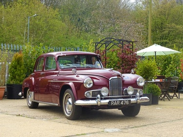 Picture of 1953 Humber Super Snipe Mark IV Limousine For Sale by Auction