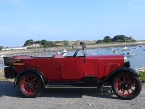 1929 Humber 9/28 Tourer good condition For Sale (picture 1 of 11)
