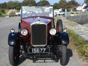 1929 Humber 9/28 Tourer good condition For Sale (picture 7 of 11)