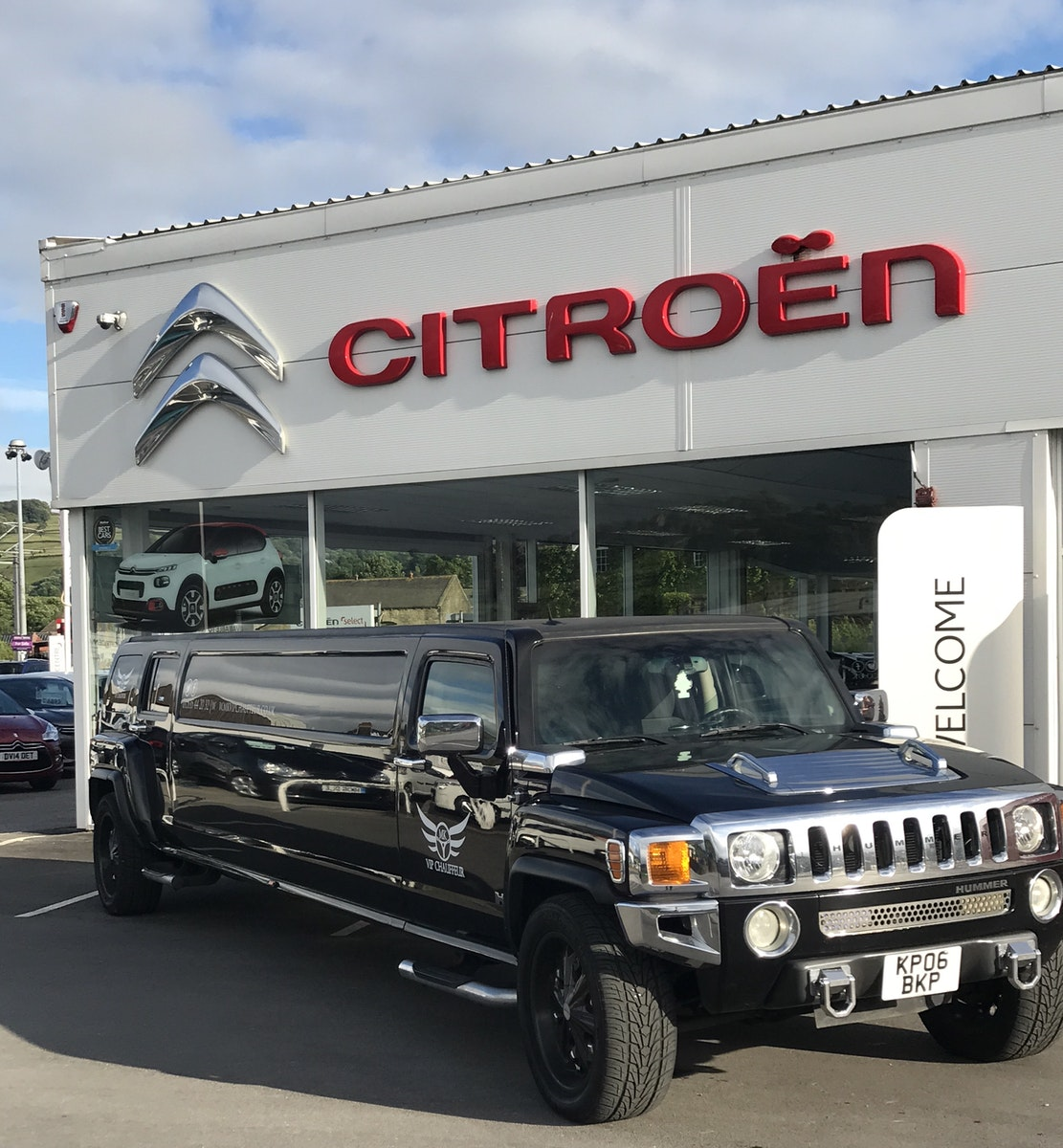 2006 Hummer H3 8 seater Limousine For Sale (picture 3 of 8)