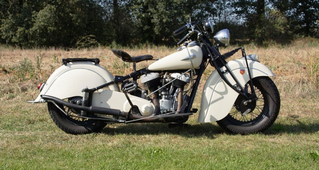 Indian Big Chief 1200 with german registration papers 1940 For Sale (picture 1 of 6)