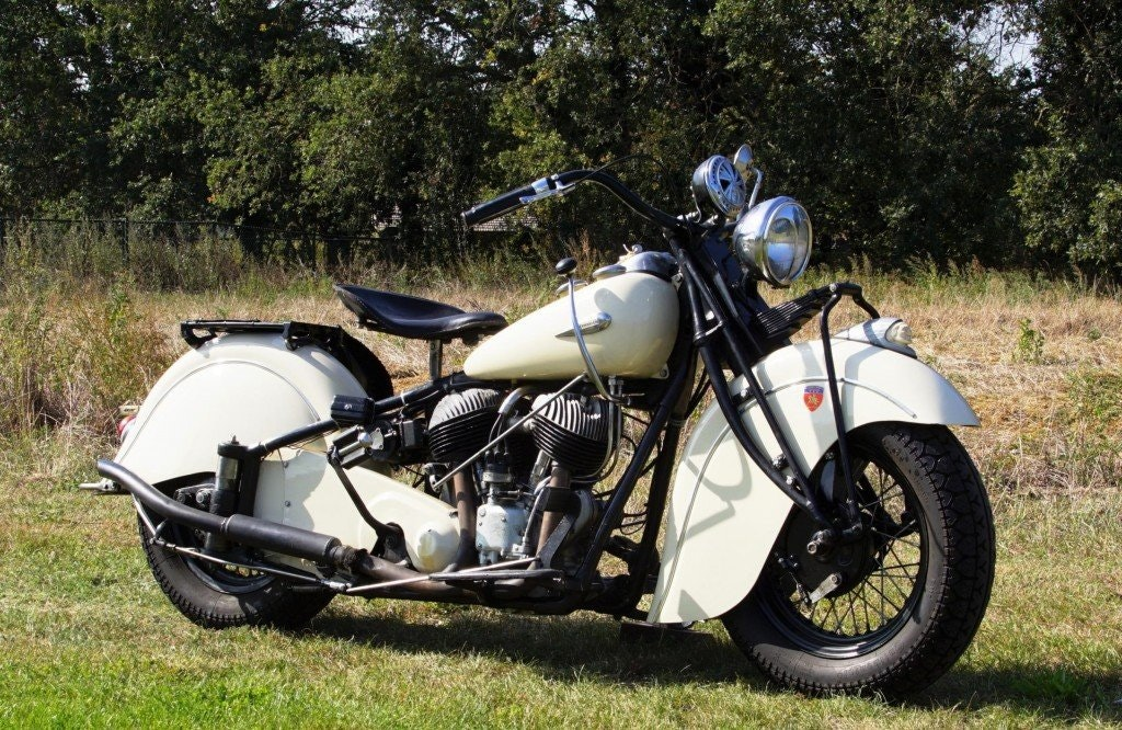 Indian Big Chief 1200 with german registration papers 1940 For Sale (picture 3 of 6)