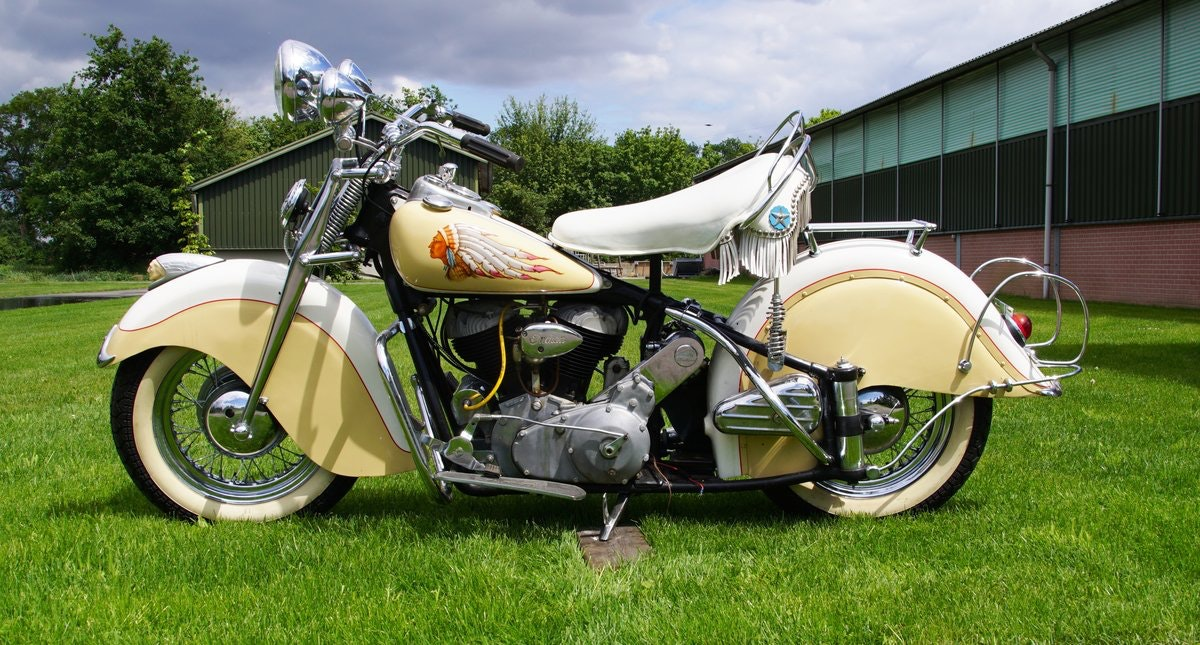 Indian Big Chief 1200 with german registration papers 1940 For Sale (picture 4 of 6)