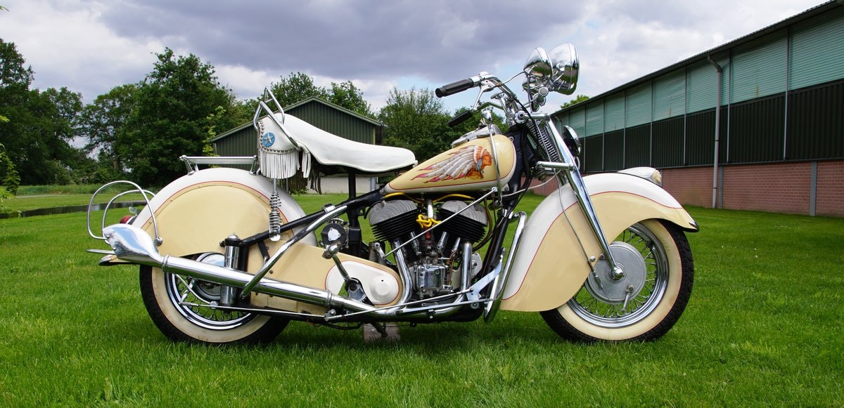 Indian Big Chief 1200 with german registration papers 1940 For Sale (picture 5 of 6)