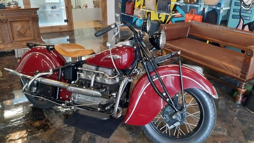 Picture of 1940 Model Indian 78Ci Four Rare  For Sale