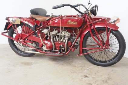Picture of 1926 Indian Scout 600 with sidecar For Sale
