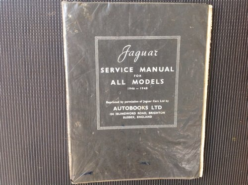 1959 JAGUAR 1960  MARK IX 3.8 ORIGINAL  OWNERS MANUAL For Sale (picture 4 of 6)