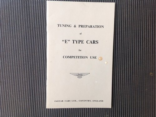 1959 JAGUAR 1960  MARK IX 3.8 ORIGINAL  OWNERS MANUAL For Sale (picture 5 of 6)