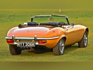 1971 Jaguar E Type V12 OTS Roadster Automatic For Sale (picture 3 of 6)