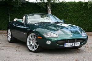 Picture of 2002 Jaguar XKR Convertible 100 Limited Edition SOLD