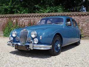 Picture of 1958 Jaguar MK1 3.4 top restored condition, matching numbers and  For Sale