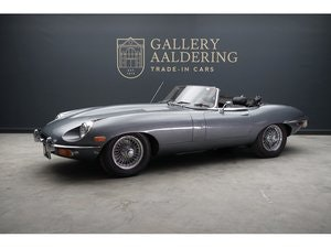 Picture of 1969 Jaguar E-Type 4.2 Convertible Series 2 black plate car For Sale