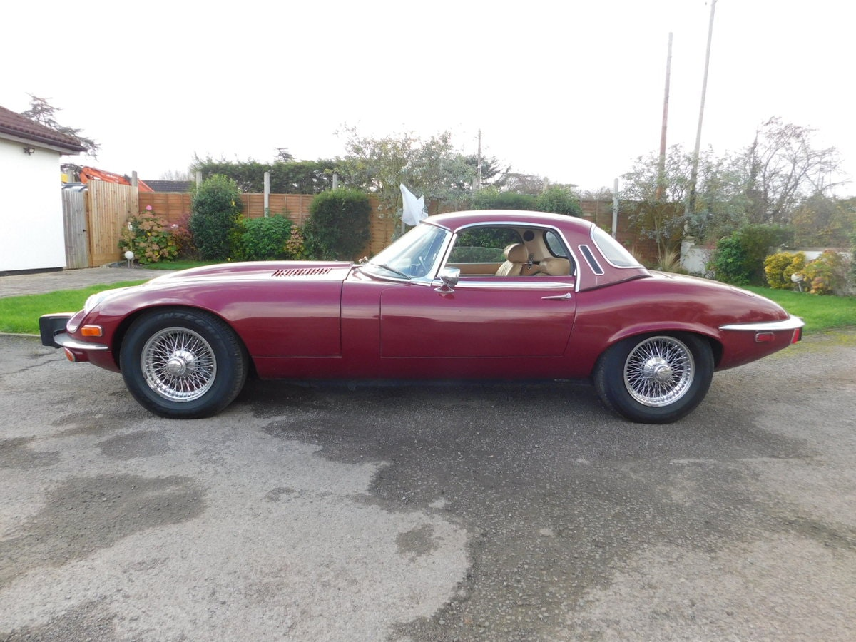 1974 JAGUAR E TYPE V12 MANUAL ROADSTER For Sale (picture 1 of 25)