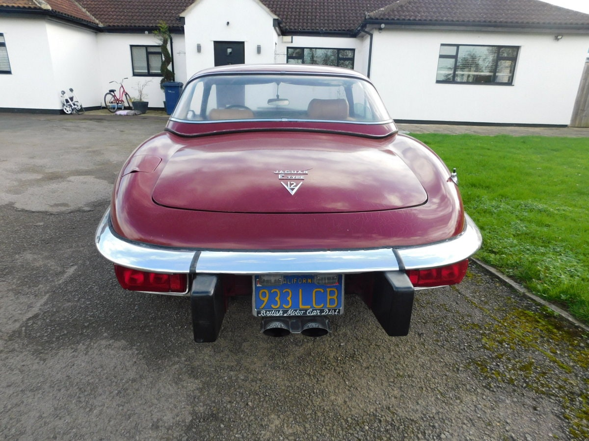 1974 JAGUAR E TYPE V12 MANUAL ROADSTER For Sale (picture 4 of 25)