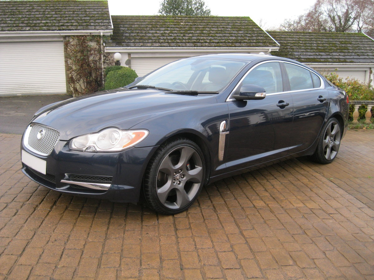 2008 Jaguar XF SV8 4.2 Supercharged Luxury Sports Saloon For Sale (picture 1 of 6)