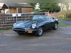 1969 Jaguar E-Type Series II 4.2 Roadster, Retrimmed Interior For Sale (picture 3 of 20)