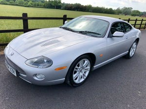Superb 2004 Jaguar XKR 4.2 s/c - Silver with Black int For Sale (picture 1 of 12)