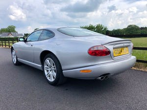 Superb 2004 Jaguar XKR 4.2 s/c - Silver with Black int For Sale (picture 3 of 12)