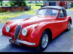 1954 Very Original RHD Jaguar XK120 DHC SE P/x Considered For Sale (picture 1 of 12)