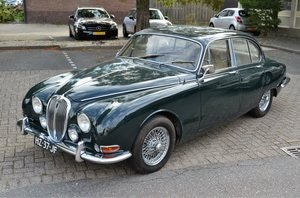 Picture of Jaguar 3.8S type green 6 cyl. 3.8L  1966 For Sale