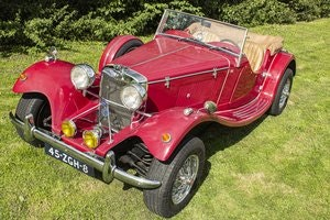 Picture of Jaguar SS100 Duke (replica) 1984  4 cyl. 2300cc For Sale