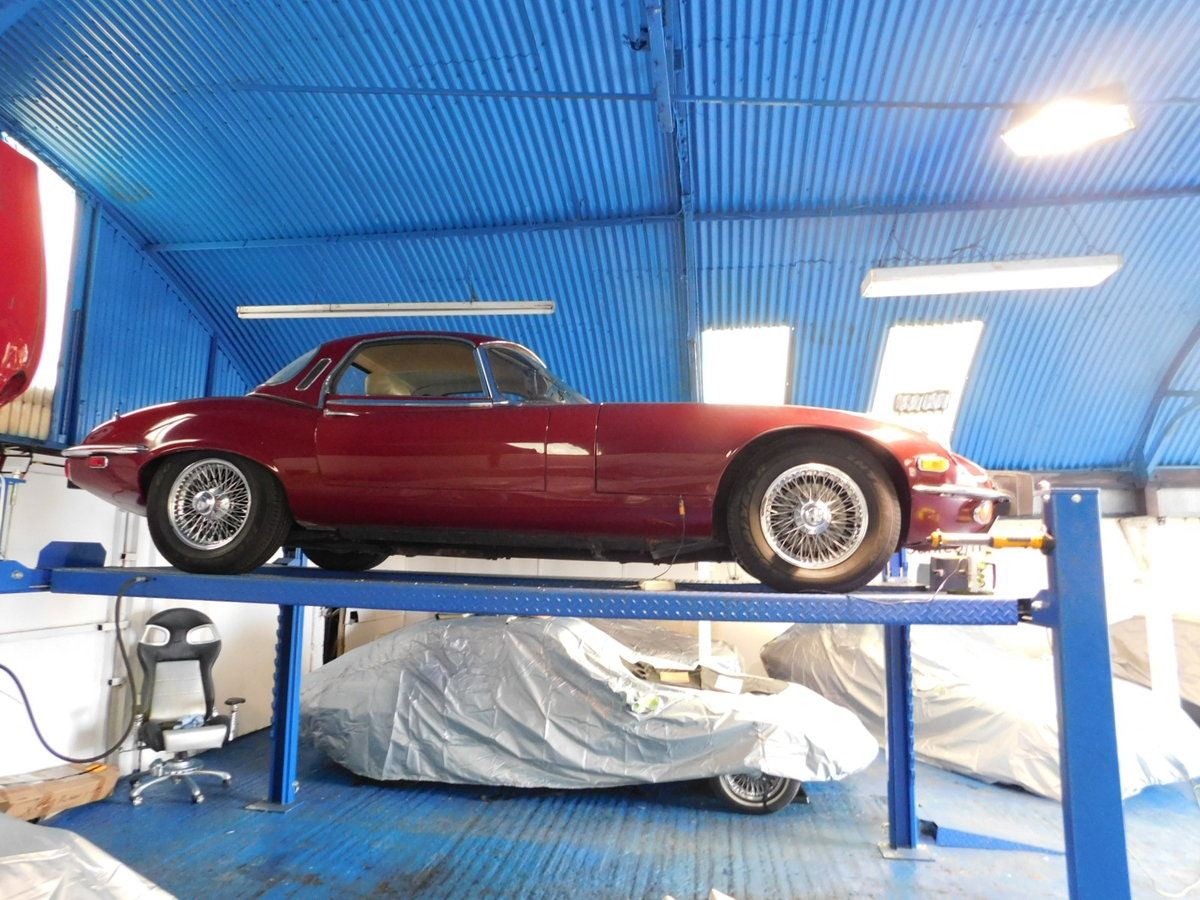 1974 JAGUAR E TYPE V12 MANUAL ROADSTER For Sale (picture 11 of 25)
