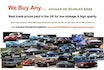 WE BUY ANY JAGUAR/DAIMLER LOW MILES & HIGH QUALITY ONLY