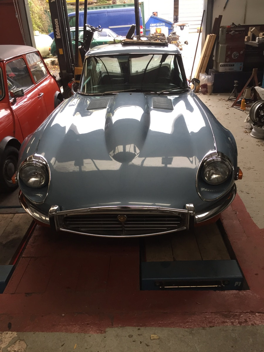 1972 E-Type V12 Coupe Automatic 2+2 For Sale (picture 1 of 5)