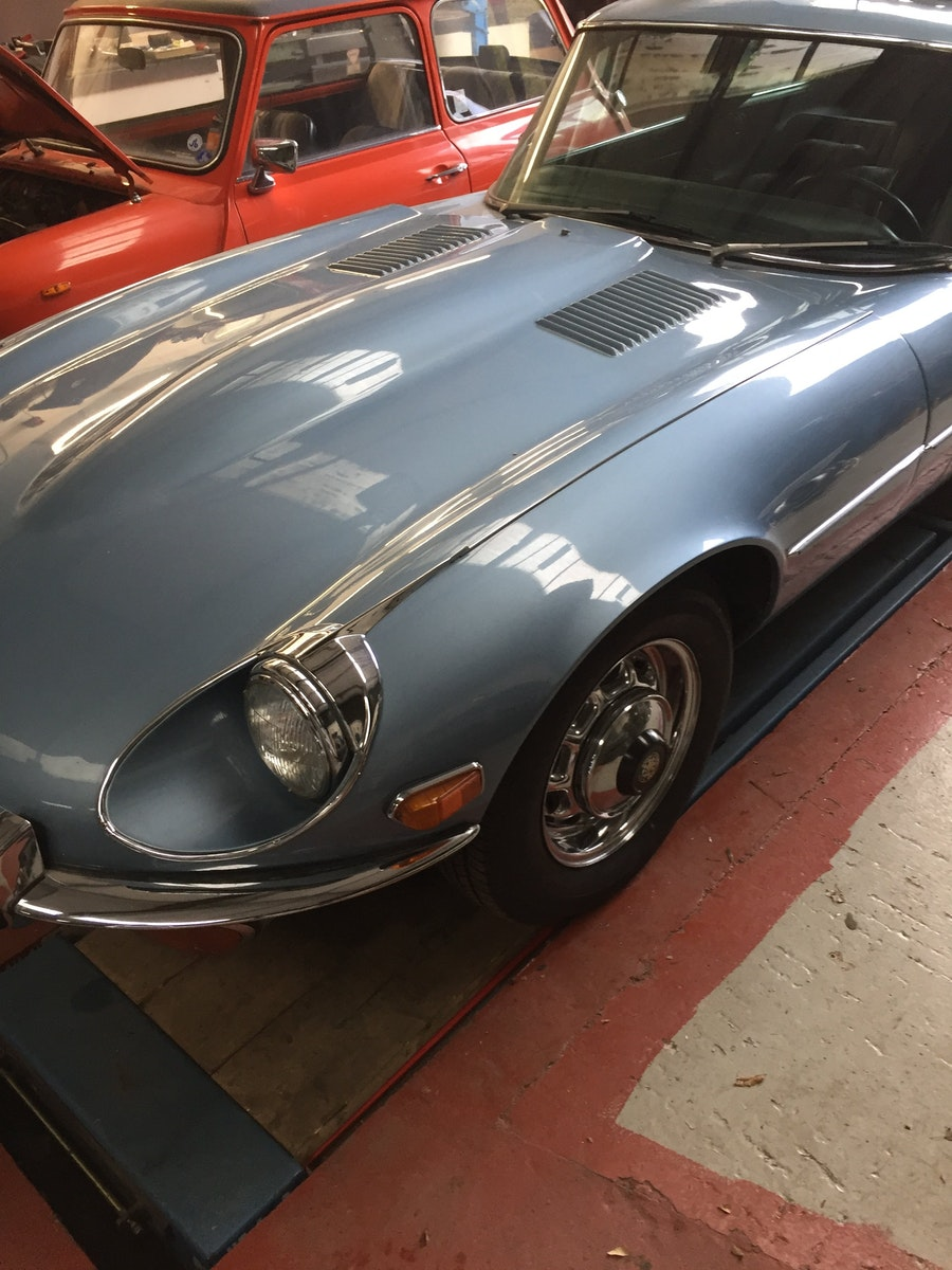 1972 E-Type V12 Coupe Automatic 2+2 For Sale (picture 2 of 5)