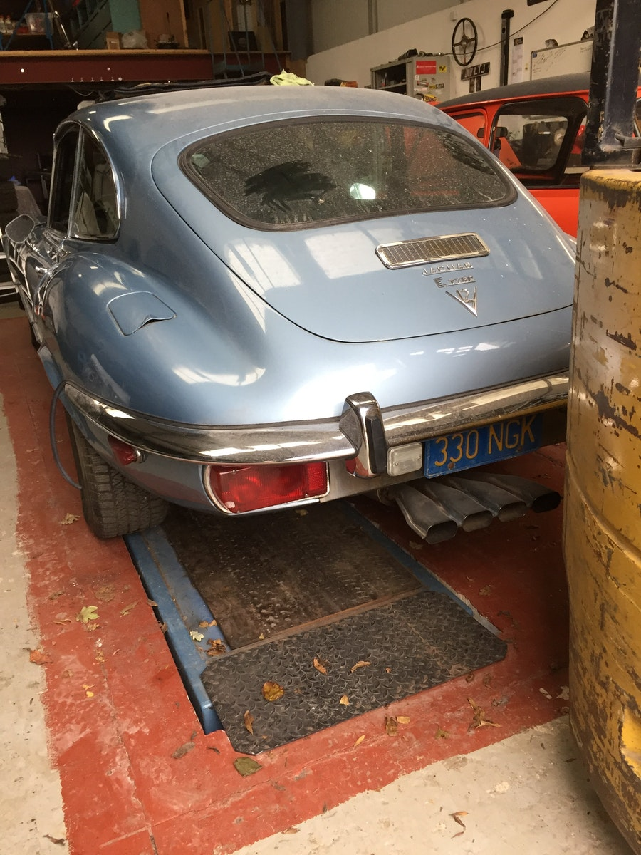 1972 E-Type V12 Coupe Automatic 2+2 For Sale (picture 3 of 5)