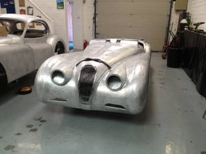 1952 Aluminium bodied XK120 OTS For Sale (1954) For Sale (picture 1 of 3)