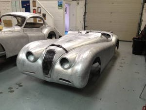 1952 Aluminium bodied XK120 OTS For Sale (1954) For Sale (picture 2 of 3)
