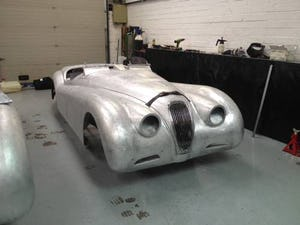1952 Aluminium bodied XK120 OTS For Sale (1954) For Sale (picture 3 of 3)