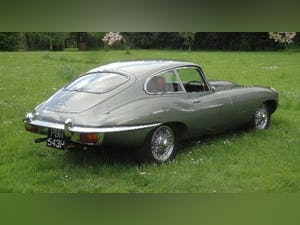 1970 E type 4.2 Coupe (1 owner UK car) For Sale (picture 1 of 9)
