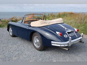 1959 Jaguar XK 150 3.8 DHC - RHD with documented restoration For Sale (picture 4 of 6)