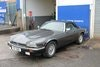 Picture of xjs convertible 5.3 v12 auto 1989 , grey/blue , blue hood SOLD