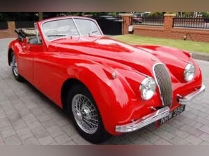 1954 Very Original RHD Jaguar XK120 DHC SE P/x Considered For Sale (picture 11 of 12)