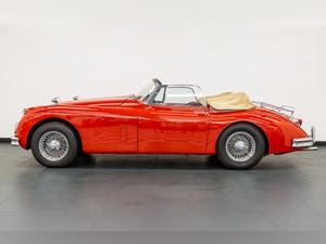 1959 JAGUAR XK150S DROPHEAD COUPE 3400cc 1 OF 19 RHD EXAMPLES For Sale (picture 8 of 27)