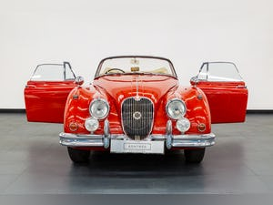 1959 JAGUAR XK150S DROPHEAD COUPE 3400cc 1 OF 19 RHD EXAMPLES For Sale (picture 9 of 27)