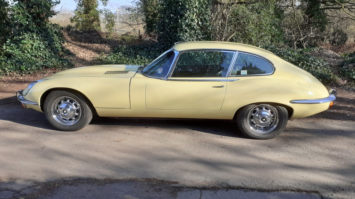 1972 Jaguar E type s3 v12 manual For Sale (picture 1 of 12)